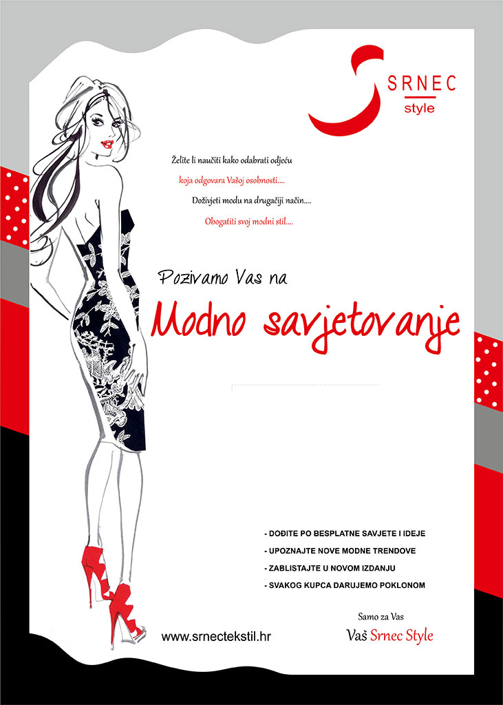 modno savjetovanje Srnec Style plakat