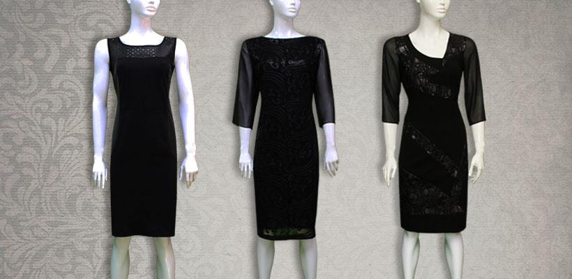Mala crna haljinica Srnec Style