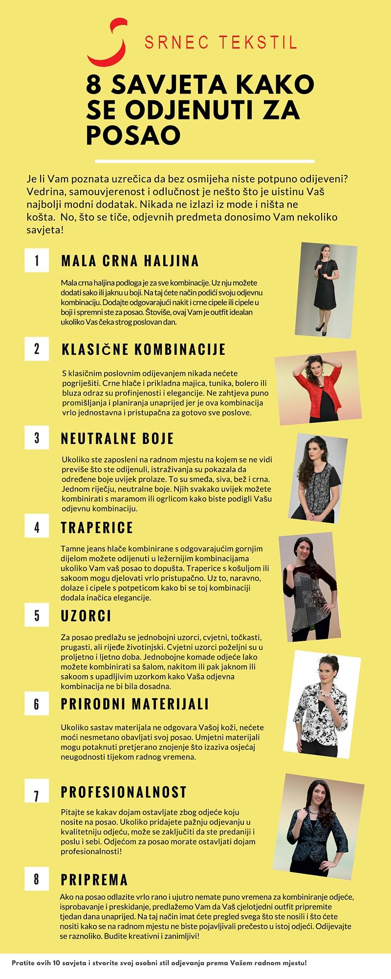 10 savjeta kako se odijenuti za posao