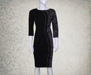 Ženska haljina GERTRUDA- Srnec Style-haljine