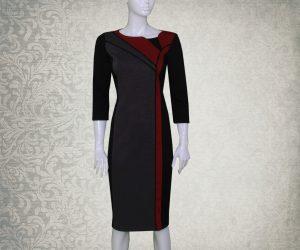 Ženska haljina PARIS Srnec Style svečano