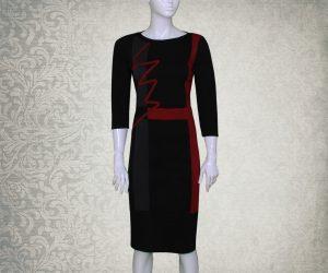 Ženska haljina SAMIA -poslovni look